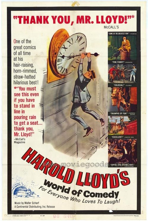Harold Lloyd's World of Comedy Poster