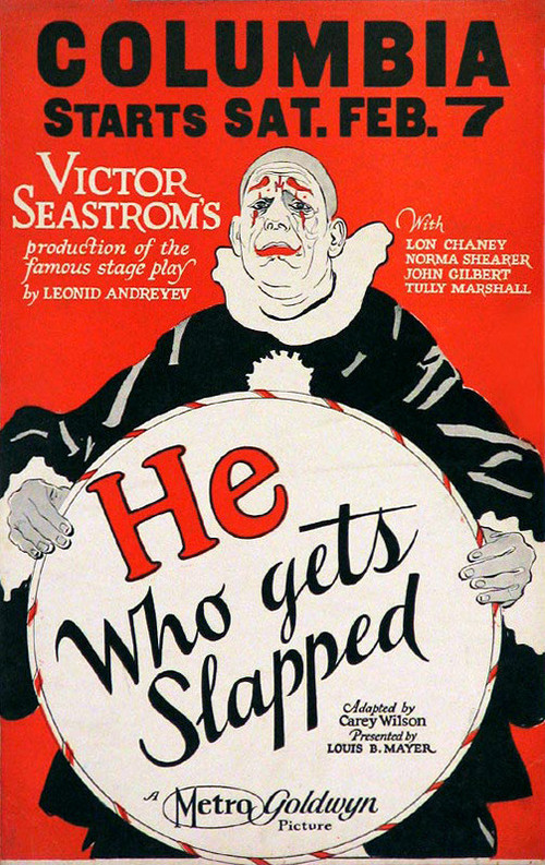 He Who Gets Slapped Poster