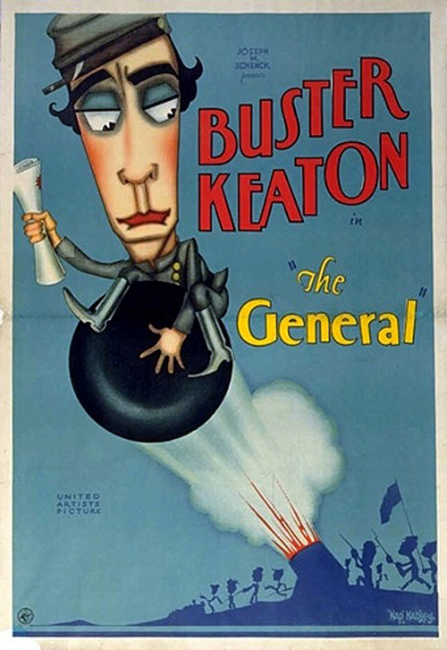 1927 The General movie poster