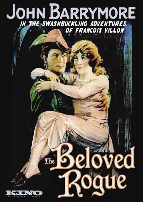 1927 The Beloved Rogue movie poster