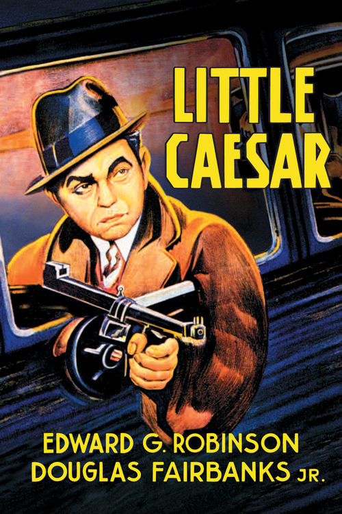 1931 Little Caesar movie poster