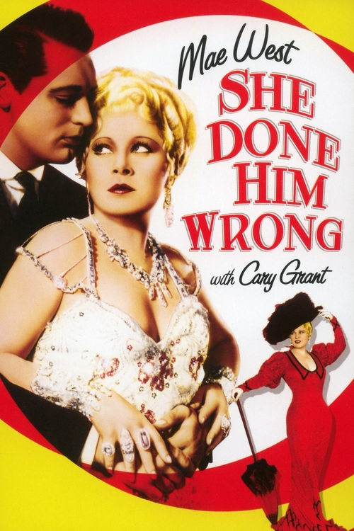 1933 She Done Him Wrong movie poster