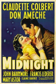1939 Midnight  movie poster