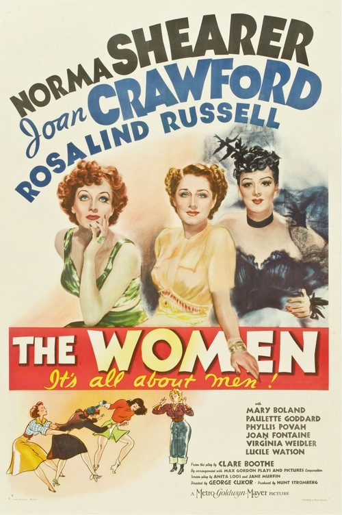 1939 The Women movie poster