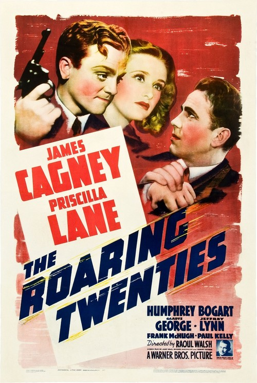 1939 The Roaring Twenties movie poster