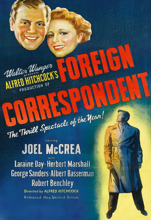 Foreign Correspondent Poster