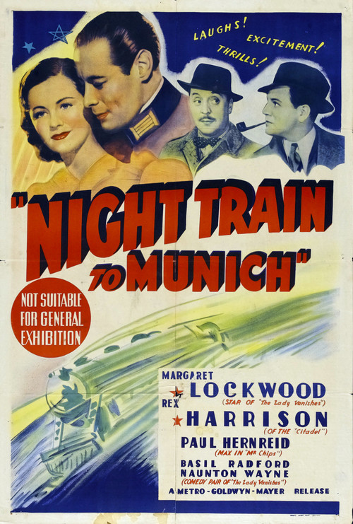 1940 Night Train to Munich movie poster