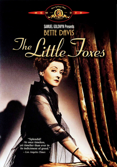 1941 The Little Foxes movie poster