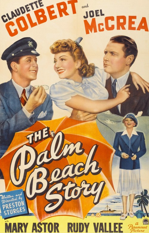 1942 The Palm Beach Story movie poster