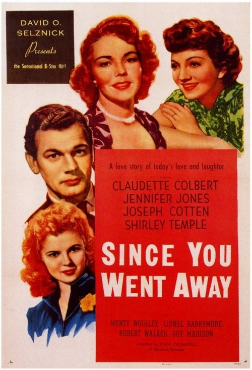 1944 Since You Went Away movie poster