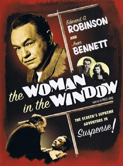 1944 The Woman in the Window movie poster