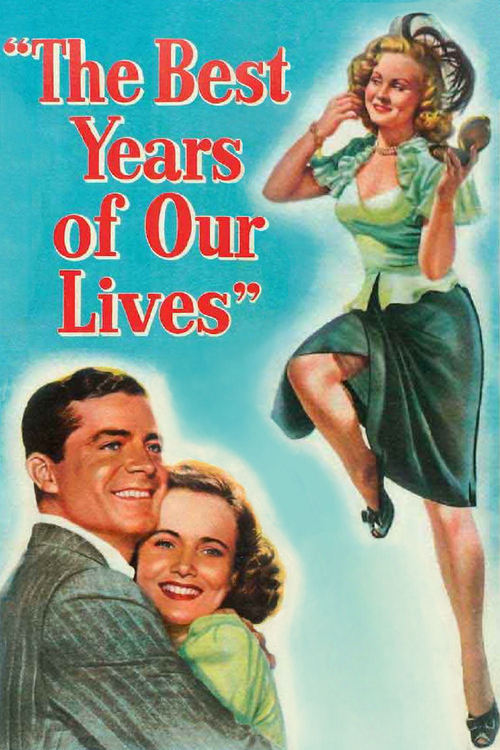 1946 The Best Years of Our Lives movie poster
