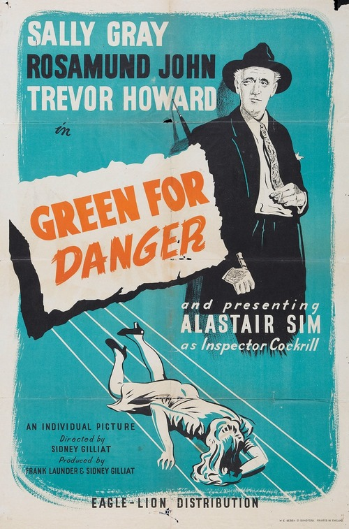Green for Danger Poster
