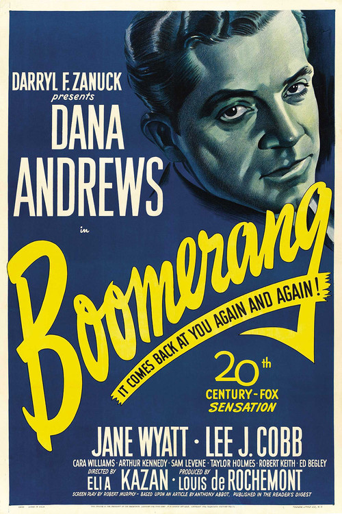 1947 Boomerang movie poster