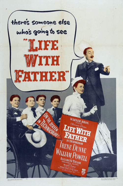 1947 Life With Father movie poster