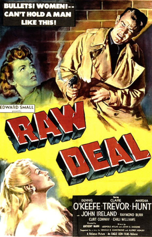 1948 Raw Deal movie poster