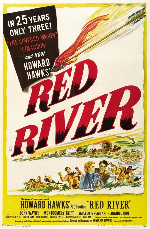 1948 Red River movie poster