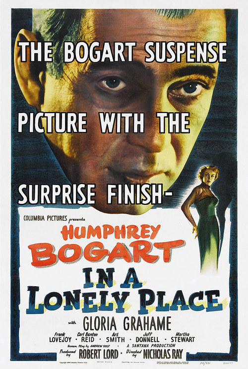 1950 In a Lonely Place movie poster