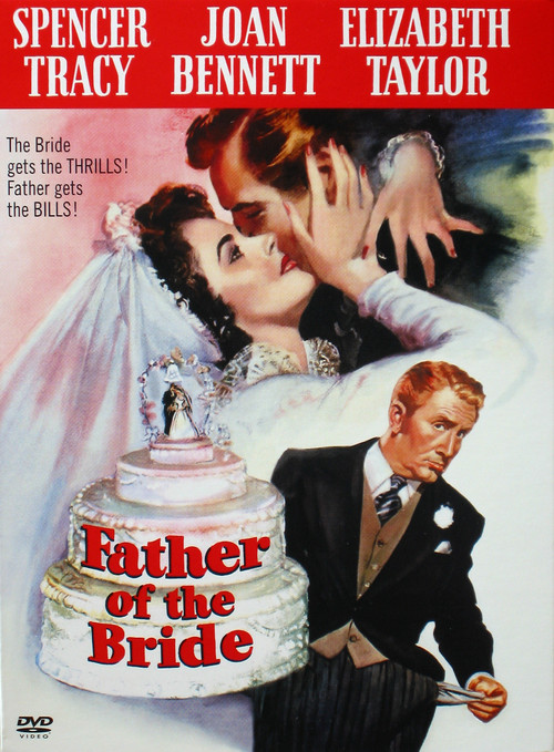 1950 Father of the Bride movie poster