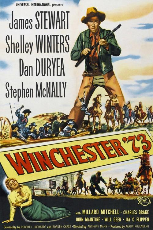 1950 Winchester '73 movie poster