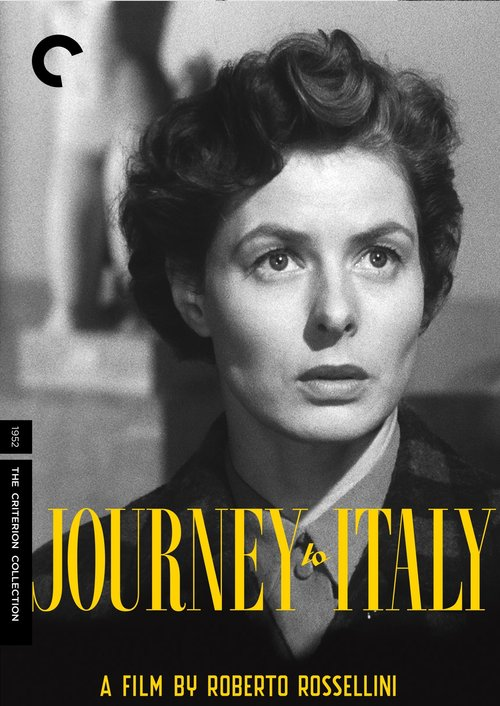 1954 Journey to Italy movie poster