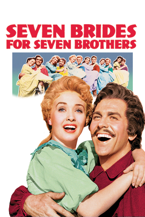 1954 Seven Brides for Seven Brothers movie poster