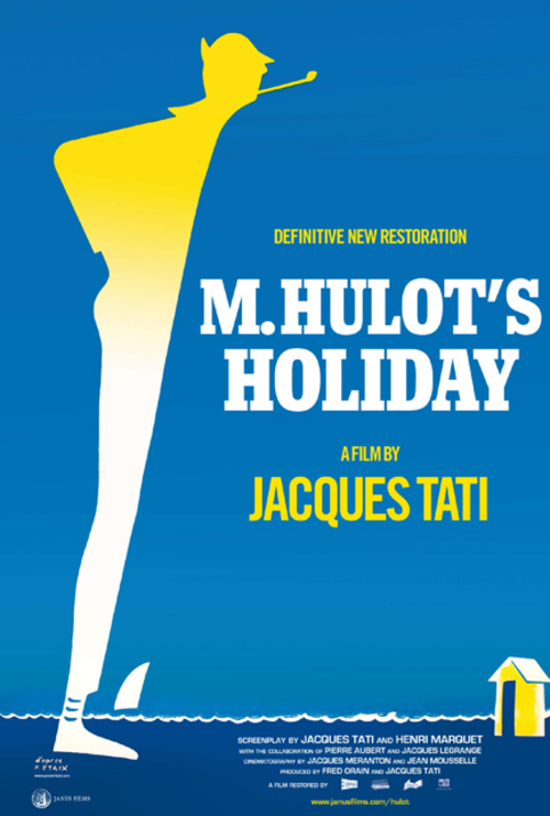 1954 M. Hulot's Holiday movie poster