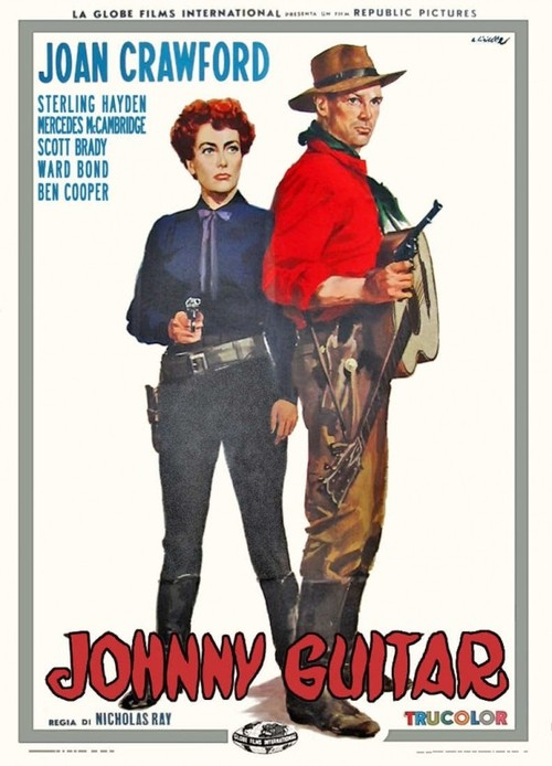 1954 Johnny Guitar movie poster