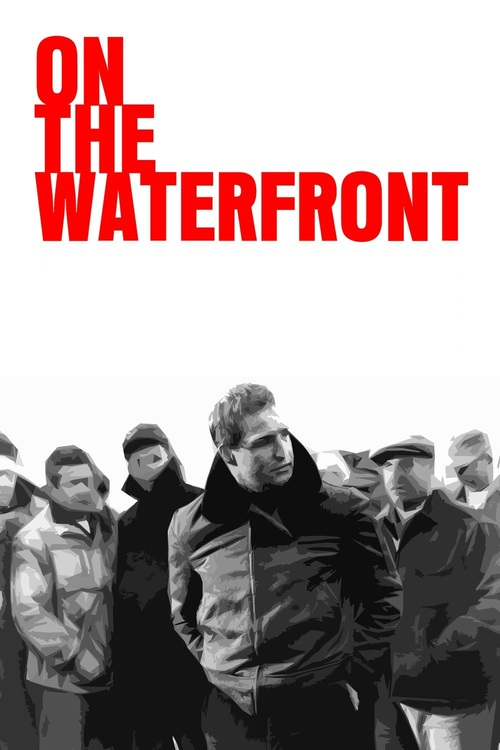 1954 On the Waterfront movie poster