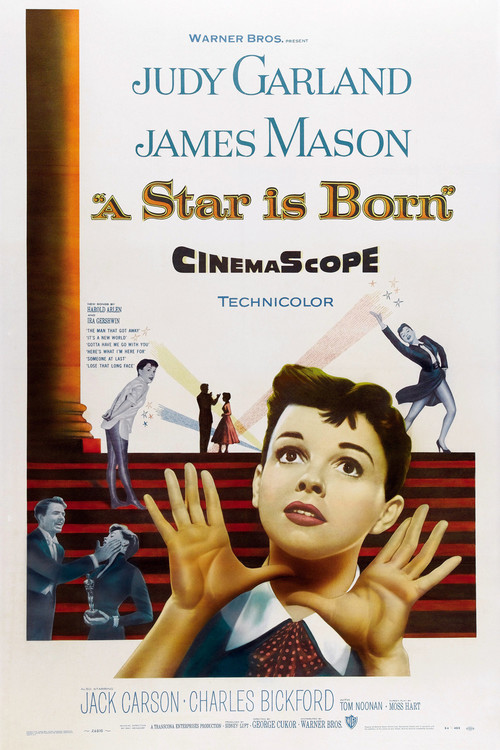 1954 A Star is Born movie poster
