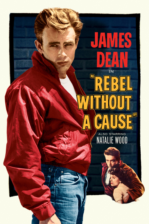 1955 Rebel Without A Cause movie poster