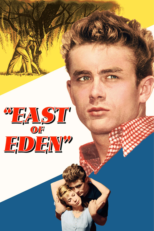 1955 East of Eden movie poster