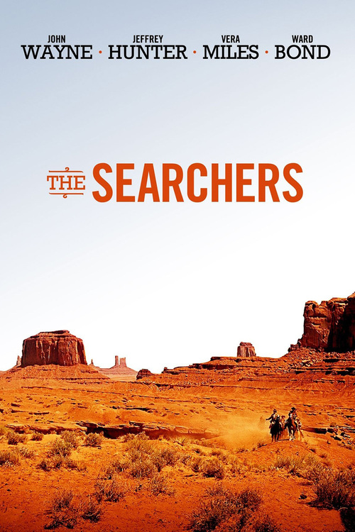 1956 The Searchers movie poster