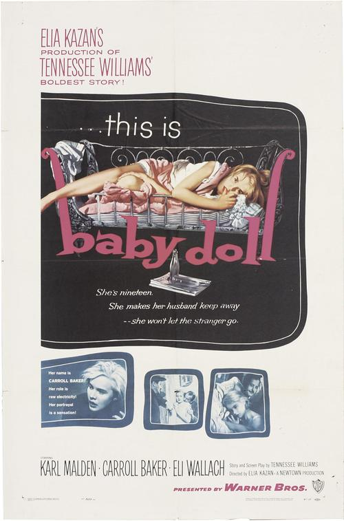 1956 Baby Doll movie poster