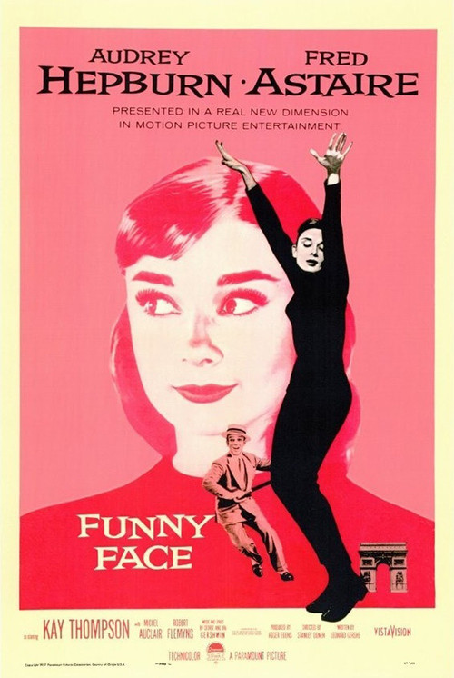 1957 Funny Face movie poster