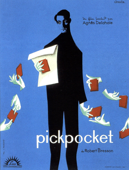 1959 Pickpocket movie poster