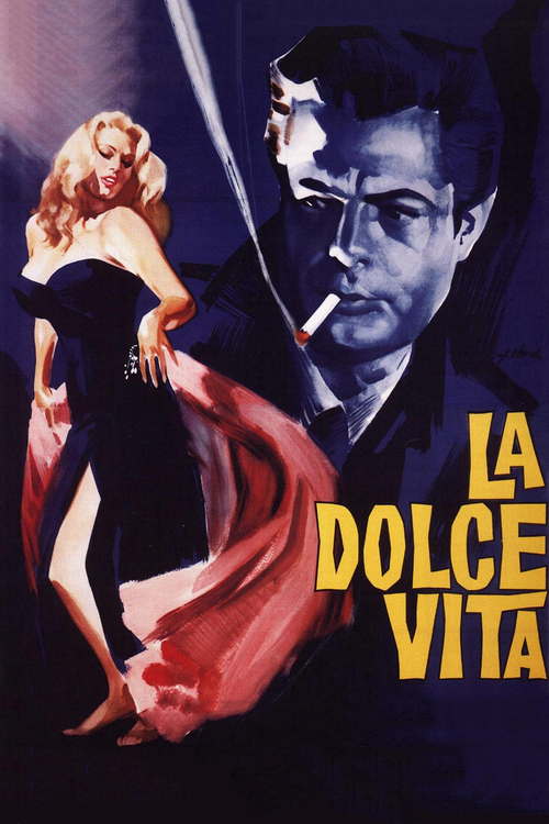 1960 La Dolce Vita movie poster