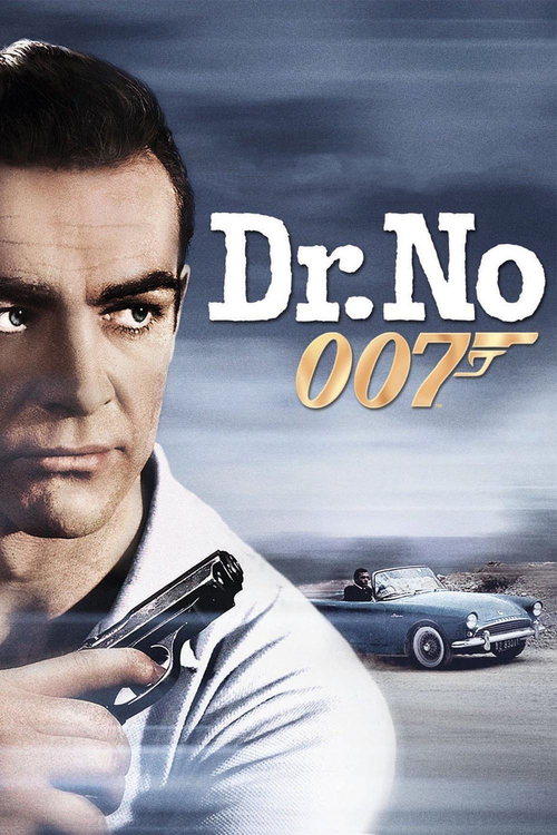 1962 Dr. No movie poster