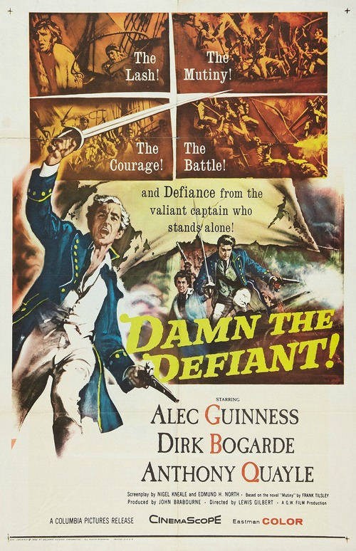 1962 Damn the Defiant movie poster