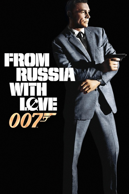 1963 From Russia with Love  movie poster