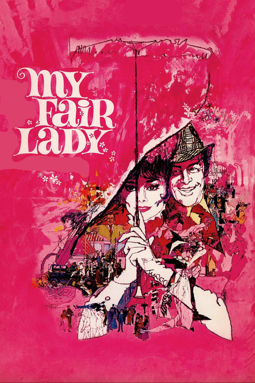 1964 My Fair Lady movie poster