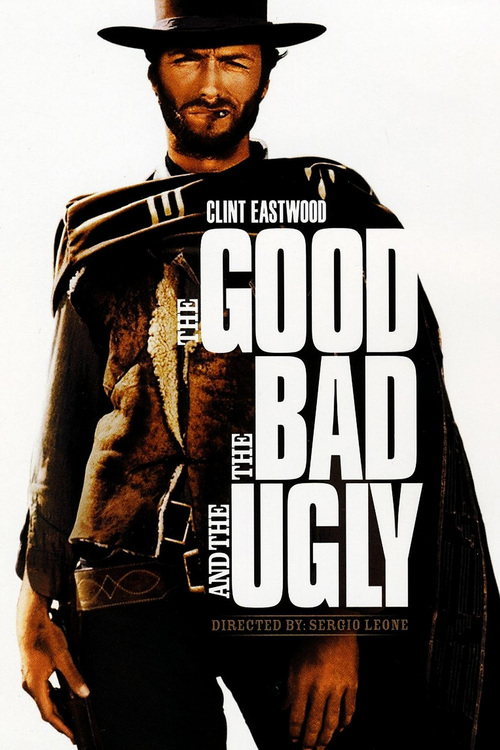 1966 The Good, the Bad and the Ugly movie poster
