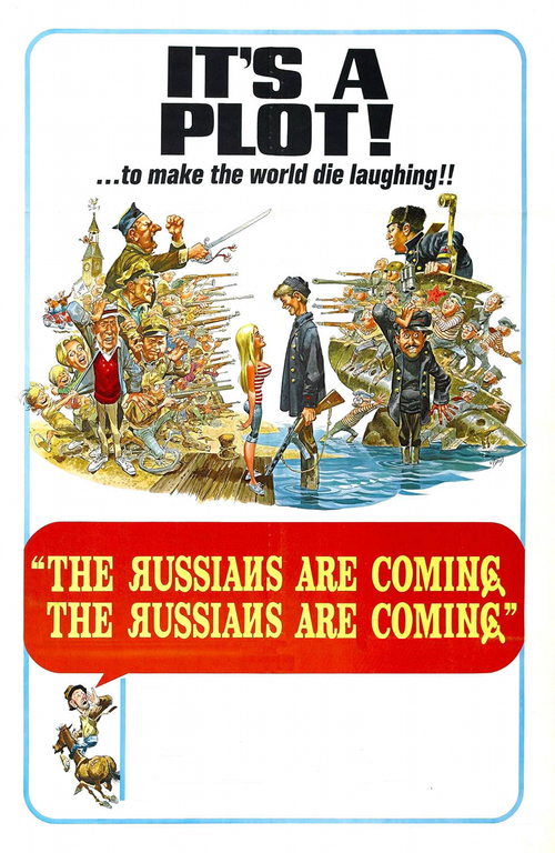 1966 The Russians Are Coming, The Russians Are Coming movie poster