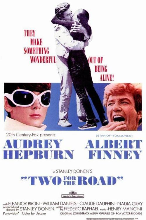 1967 Two for the Road movie poster