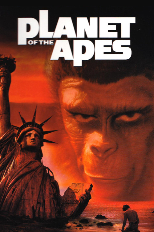 1968 Planet of the Apes movie poster