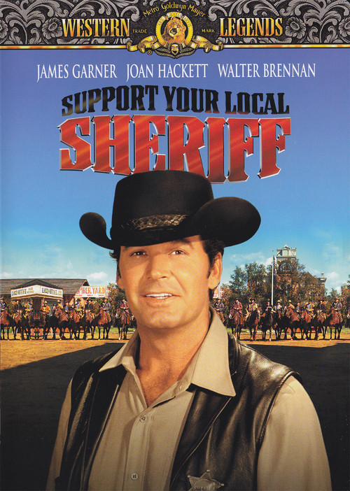 1969 Support Your Local Sheriff movie poster