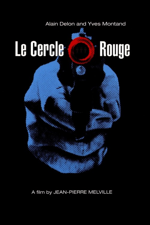1970 Le Cercle Rouge movie poster