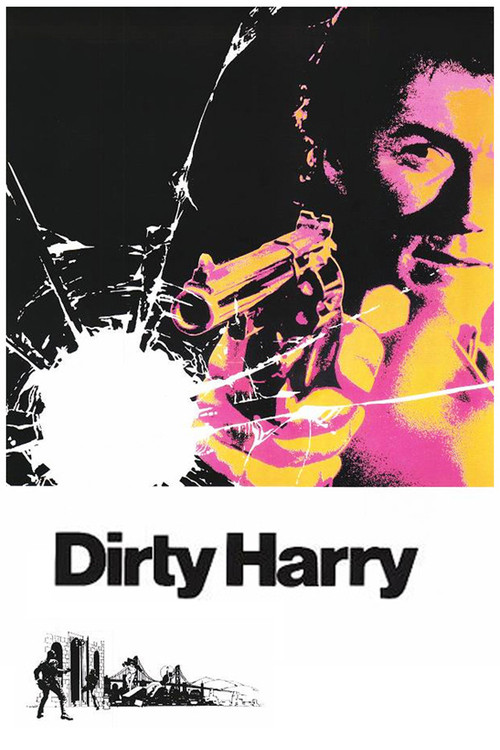 1971 Dirty Harry movie poster