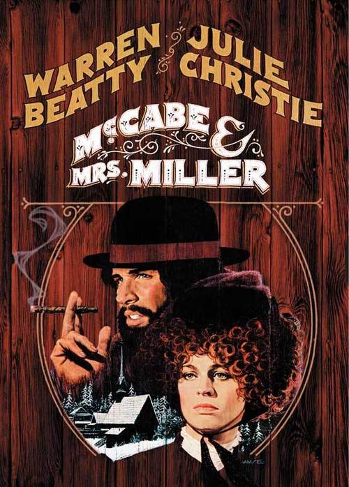 1971 McCabe and Mrs. Miller movie poster