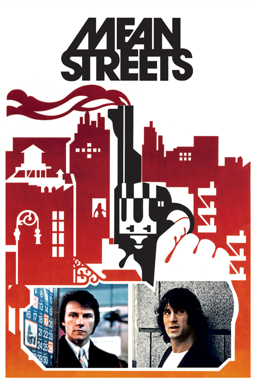 1973 Mean Streets movie poster